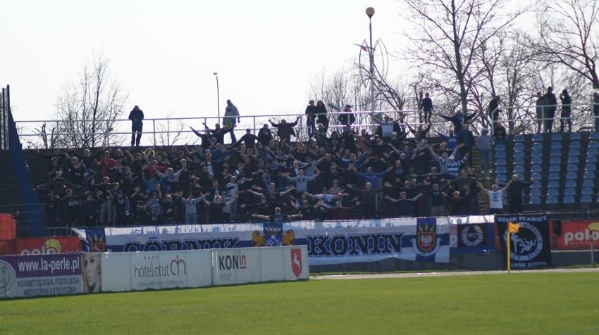 Górnik Konin - Bałtyk Gdynia (sezon 2018/19)