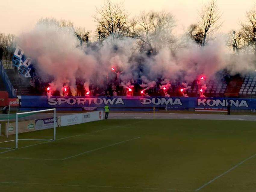 Górnik Konin - Kotwica Kołobrzeg (sezon 2018/19)