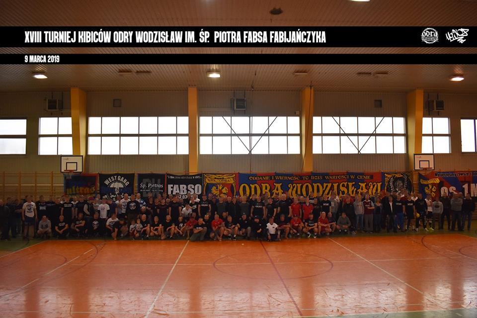 Turniej kibiców im. Śp. Fabso w Wodzisławiu (2019)